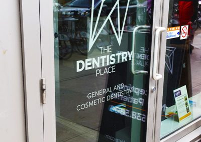 The Dentistry Place Entrance